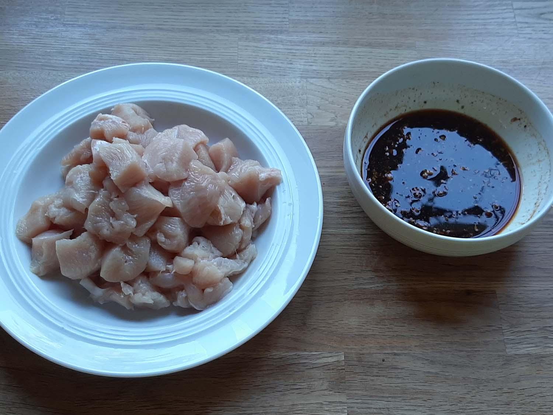 Hähnchenbrust Süß-Sauer7